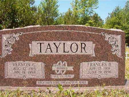 TAYLOR, VERNON C - Columbia County, Arkansas | VERNON C TAYLOR - Arkansas Gravestone Photos