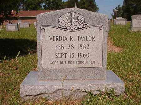 TAYLOR, VERDIA R - Columbia County, Arkansas | VERDIA R TAYLOR - Arkansas Gravestone Photos