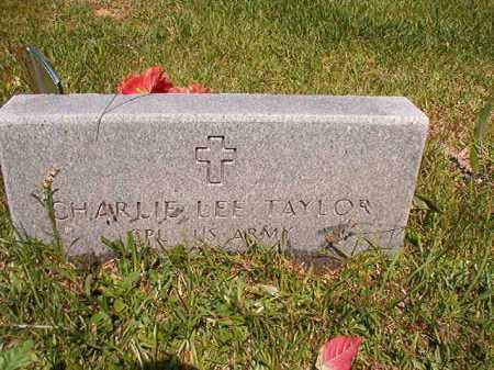 TAYLOR (VETERAN WWII), CHARLIE LEE - Columbia County, Arkansas | CHARLIE LEE TAYLOR (VETERAN WWII) - Arkansas Gravestone Photos