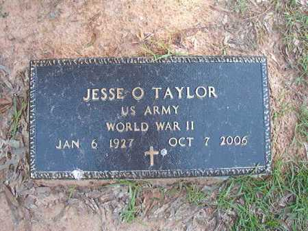 TAYLOR (VETERAN WWII), JESSE O - Columbia County, Arkansas | JESSE O TAYLOR (VETERAN WWII) - Arkansas Gravestone Photos