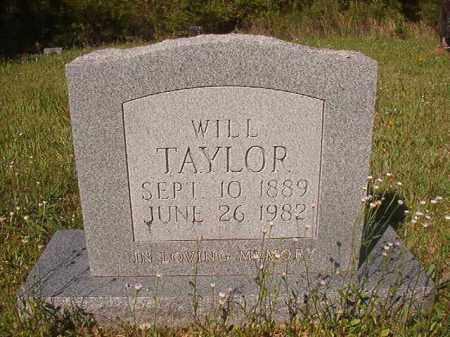 TAYLOR, WILL - Columbia County, Arkansas | WILL TAYLOR - Arkansas Gravestone Photos