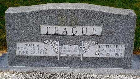 TEAGUE, NOAH A. - Columbia County, Arkansas | NOAH A. TEAGUE - Arkansas Gravestone Photos