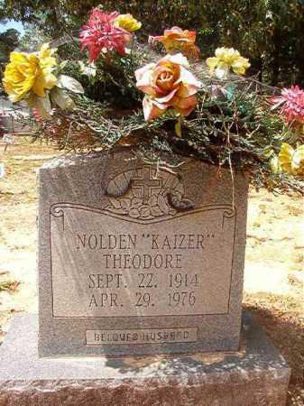 "THEODORE, NOLDEN ""KAIZER"" - Columbia County, Arkansas | NOLDEN ""KAIZER"" THEODORE - Arkansas Gravestone Photos"