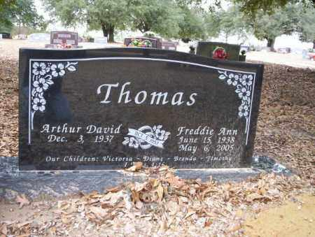 THOMAS, FREDDIE ANN - Columbia County, Arkansas | FREDDIE ANN THOMAS - Arkansas Gravestone Photos