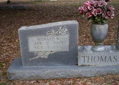 THOMAS, HOWARD W - Columbia County, Arkansas | HOWARD W THOMAS - Arkansas Gravestone Photos
