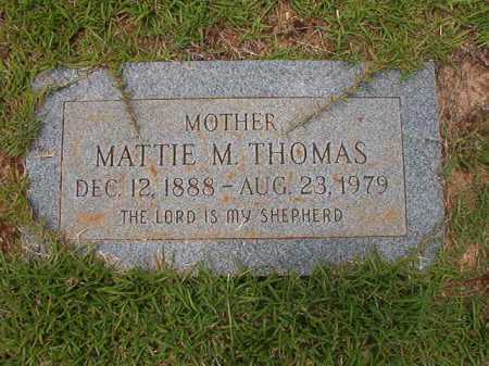THOMAS, MATTIE M - Columbia County, Arkansas | MATTIE M THOMAS - Arkansas Gravestone Photos