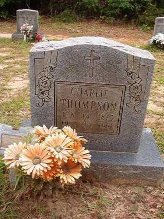 THOMPSON, CHARLIE - Columbia County, Arkansas   CHARLIE THOMPSON - Arkansas Gravestone Photos