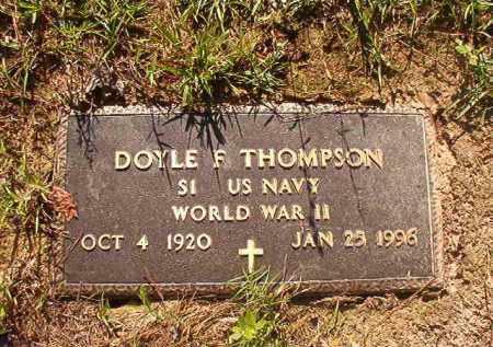 THOMPSON (VETERAN WWII), DOYLE F - Columbia County, Arkansas | DOYLE F THOMPSON (VETERAN WWII) - Arkansas Gravestone Photos