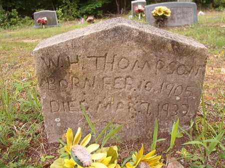 THOMPSON, W H - Columbia County, Arkansas | W H THOMPSON - Arkansas Gravestone Photos