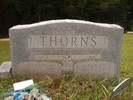 THORNS, JULIUS - Columbia County, Arkansas | JULIUS THORNS - Arkansas Gravestone Photos