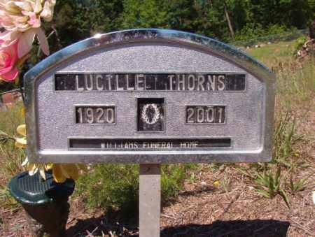 THORNS, LUCILLE - Columbia County, Arkansas   LUCILLE THORNS - Arkansas Gravestone Photos