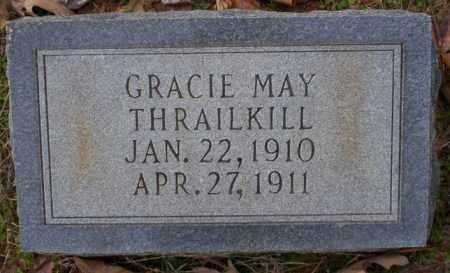 THRAILKILL, GRACIE MAY - Columbia County, Arkansas | GRACIE MAY THRAILKILL - Arkansas Gravestone Photos