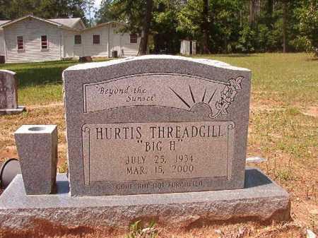 "THREADGILL, HURTIS ""BIG H"" - Columbia County, Arkansas | HURTIS ""BIG H"" THREADGILL - Arkansas Gravestone Photos"