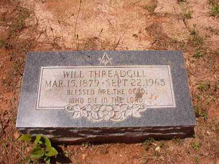 THREADGILL, WILL - Columbia County, Arkansas | WILL THREADGILL - Arkansas Gravestone Photos