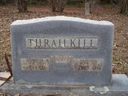 THRAILKILL, SALLIE V - Columbia County, Arkansas | SALLIE V THRAILKILL - Arkansas Gravestone Photos