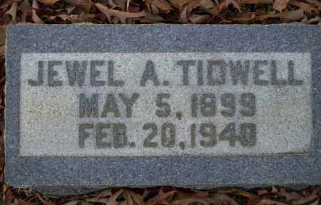 TIDWELL, JEWEL A - Columbia County, Arkansas | JEWEL A TIDWELL - Arkansas Gravestone Photos