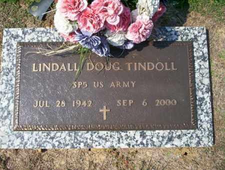 TINDOLL  (VETERAN), LINDALL DOUG - Columbia County, Arkansas | LINDALL DOUG TINDOLL  (VETERAN) - Arkansas Gravestone Photos