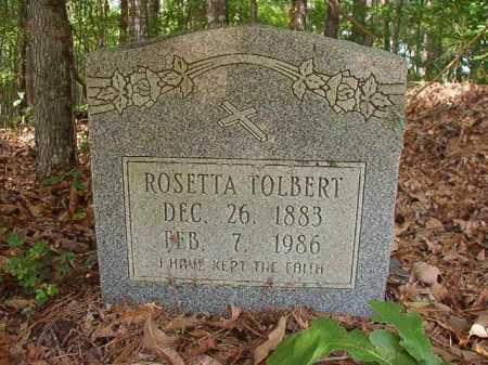 TOLBERT, ROSETTA - Columbia County, Arkansas | ROSETTA TOLBERT - Arkansas Gravestone Photos