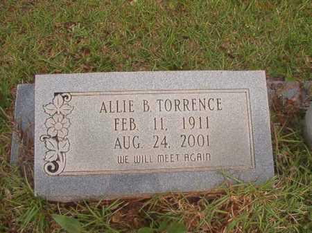 TORRENCE, ALLIE - Columbia County, Arkansas   ALLIE TORRENCE - Arkansas Gravestone Photos
