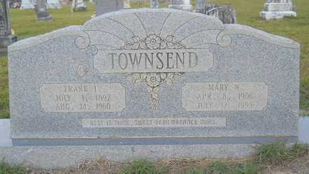 WILLIS TOWNSEND, MARY N - Columbia County, Arkansas | MARY N WILLIS TOWNSEND - Arkansas Gravestone Photos