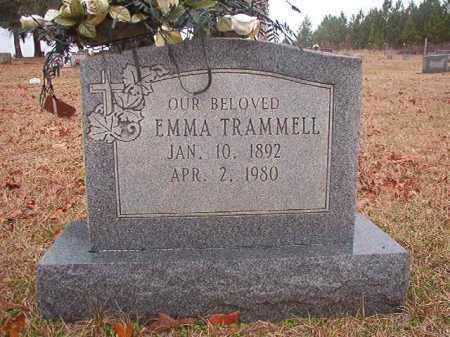 TRAMMELL, EMMA - Columbia County, Arkansas | EMMA TRAMMELL - Arkansas Gravestone Photos