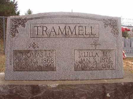 TRAMMELL, THOMAS J - Columbia County, Arkansas   THOMAS J TRAMMELL - Arkansas Gravestone Photos