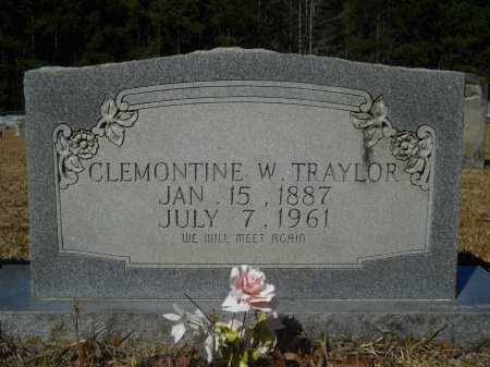 TRAYLOR, CLEMONTINE - Columbia County, Arkansas | CLEMONTINE TRAYLOR - Arkansas Gravestone Photos