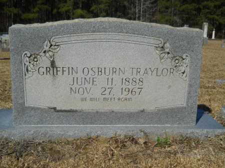 TRAYLOR, GRIFFIN OSBURN - Columbia County, Arkansas | GRIFFIN OSBURN TRAYLOR - Arkansas Gravestone Photos