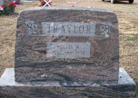 TRAYLOR, WILLIS N - Columbia County, Arkansas | WILLIS N TRAYLOR - Arkansas Gravestone Photos