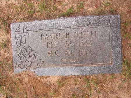 TRIPLET, DANIEL H - Columbia County, Arkansas | DANIEL H TRIPLET - Arkansas Gravestone Photos