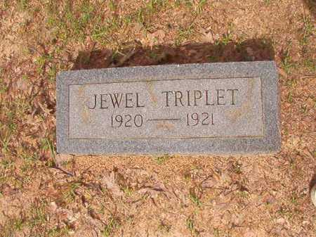 TRIPLET, JEWEL - Columbia County, Arkansas   JEWEL TRIPLET - Arkansas Gravestone Photos
