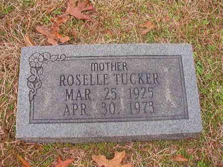 TUCKER, ROSELLE - Columbia County, Arkansas | ROSELLE TUCKER - Arkansas Gravestone Photos