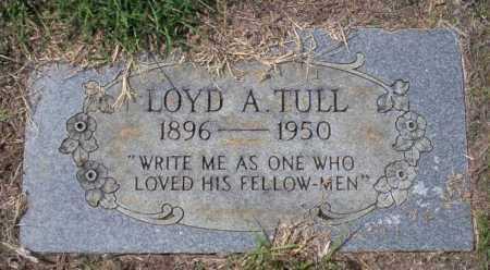 TULL, LOYD A - Columbia County, Arkansas | LOYD A TULL - Arkansas Gravestone Photos