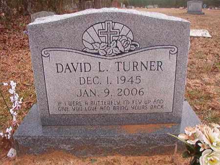 TURNER, DAVID L - Columbia County, Arkansas   DAVID L TURNER - Arkansas Gravestone Photos