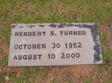 TURNER, HERBERT S - Columbia County, Arkansas   HERBERT S TURNER - Arkansas Gravestone Photos