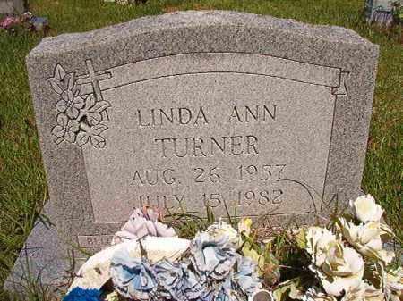 TURNER, LINDA ANN - Columbia County, Arkansas | LINDA ANN TURNER - Arkansas Gravestone Photos
