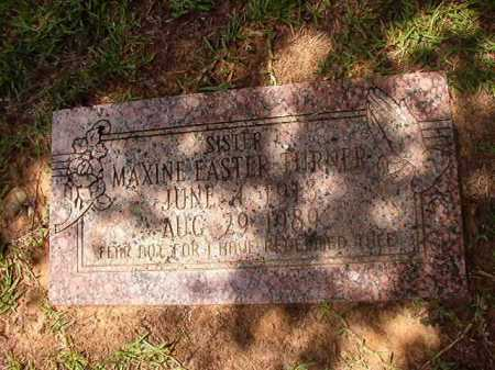 EASTER TURNER, MAXINE - Columbia County, Arkansas | MAXINE EASTER TURNER - Arkansas Gravestone Photos