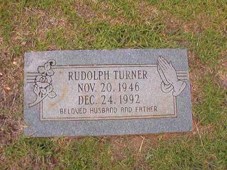 TURNER, RUDOLPH - Columbia County, Arkansas   RUDOLPH TURNER - Arkansas Gravestone Photos