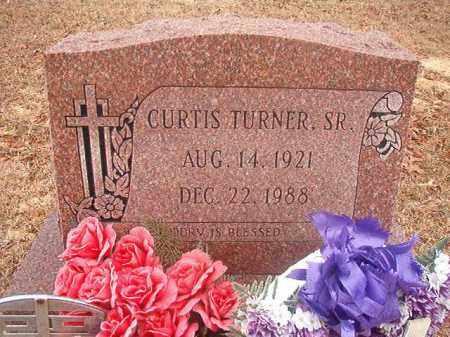 TURNER, SR, CURTIS - Columbia County, Arkansas   CURTIS TURNER, SR - Arkansas Gravestone Photos