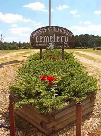 *TWENTY - THIRD PSALM, CEMETERY - Columbia County, Arkansas | CEMETERY *TWENTY - THIRD PSALM - Arkansas Gravestone Photos