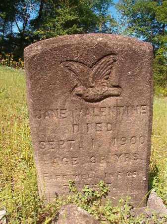 VALENTINE, JANE - Columbia County, Arkansas   JANE VALENTINE - Arkansas Gravestone Photos