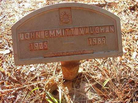 VAUGHAN, JOHN EMMITT - Columbia County, Arkansas | JOHN EMMITT VAUGHAN - Arkansas Gravestone Photos