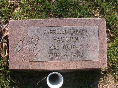 VAUGHN, CARRIE ELIZABETH - Columbia County, Arkansas | CARRIE ELIZABETH VAUGHN - Arkansas Gravestone Photos