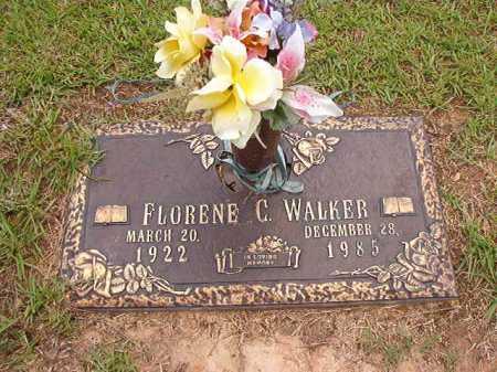 WALKER, FLORENE C - Columbia County, Arkansas | FLORENE C WALKER - Arkansas Gravestone Photos