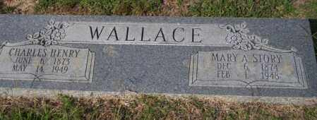 WALLACE, CHARLES HENRY - Columbia County, Arkansas | CHARLES HENRY WALLACE - Arkansas Gravestone Photos