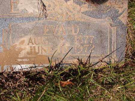 WALLACE, EVA D - Columbia County, Arkansas | EVA D WALLACE - Arkansas Gravestone Photos