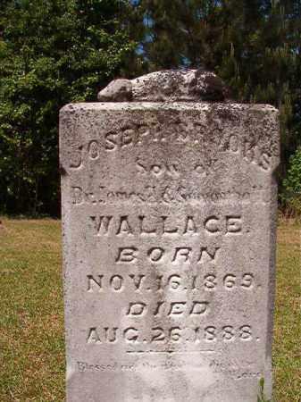 WALLACE, JOSEPH BROOKS - Columbia County, Arkansas   JOSEPH BROOKS WALLACE - Arkansas Gravestone Photos