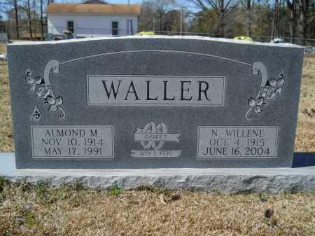 WALLER, ALMOND M - Columbia County, Arkansas | ALMOND M WALLER - Arkansas Gravestone Photos
