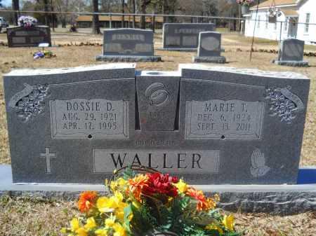 WALLER, MARIE T - Columbia County, Arkansas | MARIE T WALLER - Arkansas Gravestone Photos