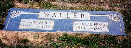 WALLER, ATHLENE - Columbia County, Arkansas | ATHLENE WALLER - Arkansas Gravestone Photos